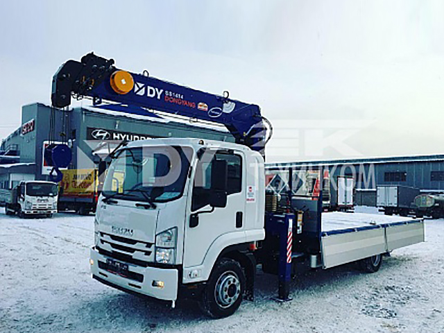 Isuzu Forward 12.0 Extralong с КМУ DongYang SS1414